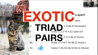 How To Create EXOTIC Sounds Using Only Two Triads