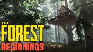 the forest when crocodiles attack tree house village let s play the forest co op part 1