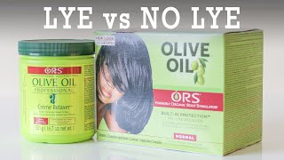 Hair Relaxers (LYE vs NO LYE)