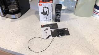 JBL REFLECT CONTOUR 2 REFLECTIVE BLUETOOTH WIRELESS EARBUDS ( COLOR SILVER/BLACK) UNBOXING/REVIEW