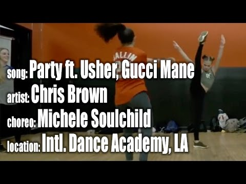 Party  Chris Brown, ft Usher, Gucci Mane choreo  Michele Soulchild, Big Will Simmons at IDA