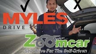 Self-Drive battle: Zoomcar or Myles