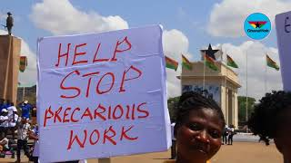 Trending GH: Private workers bemoan poor service conditions