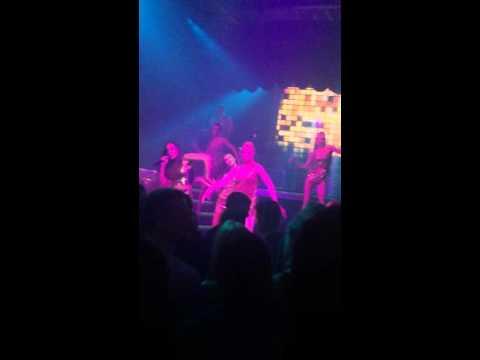 Performing bang bang by Ariana grande in soho room Moscow club