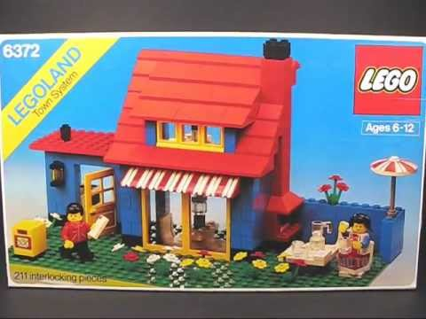 Vintage 1982 lego classic town 6372 town house youtube for Classic house music 1988