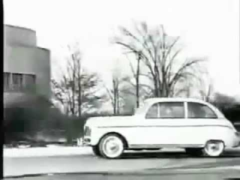 Henry Fords plastic hemp soybean car from 1941