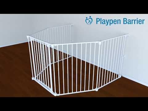 Playpen Barrier Installation - Perma Child Safety™