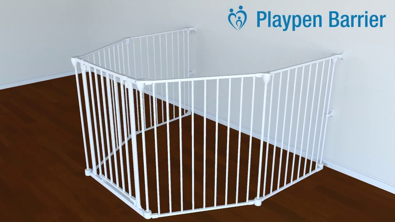 Playpen Barrier Installation Perma Child Safety Youtube