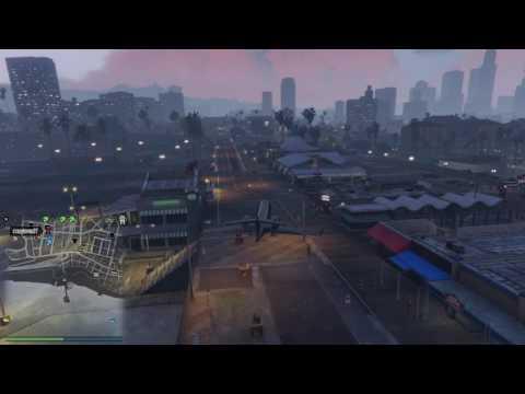 GTA Online - Land the Luxor on Del Perro Pier