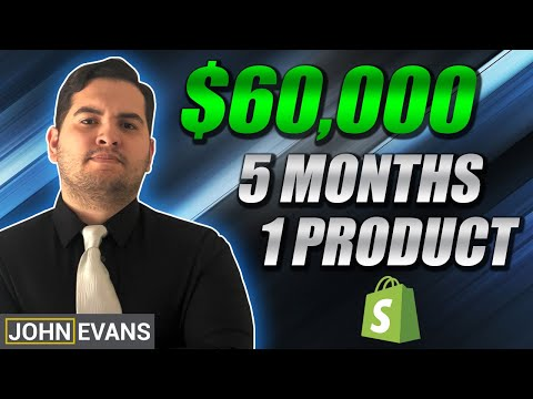 [CASE STUDY] $60000 In 5 Months! | Shopify Dropshipping 2019 thumbnail