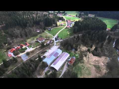 DJI   Phantom 3 Advanced Flug bei Langdorf