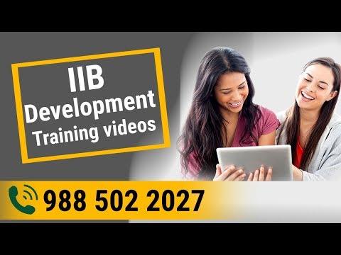 WebSphere MB (IIB) Development Online Training Videos Session 01