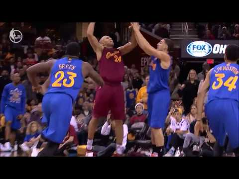 Richar Jefferson's posterize dunks against Kevin Durant & Klay Thompson