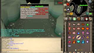 Runescape 2007 - How to get to the Lighthouse from Waterbirth Island