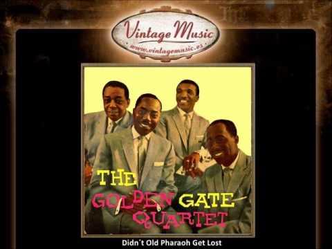 The Golden Gate Quartet - Didn´t Old Pharaoh Get Lost (VintageMusic.es)