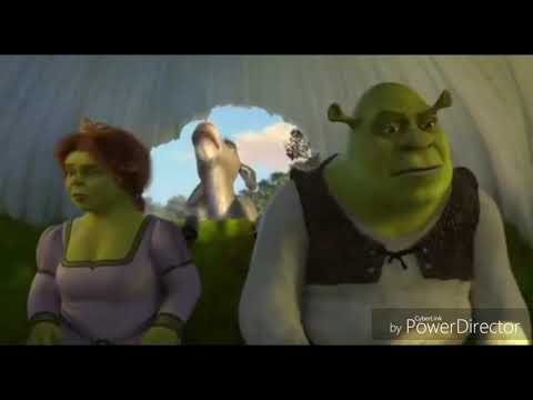 The TING GO SKRRA! SHREK donkey-Big Shaq