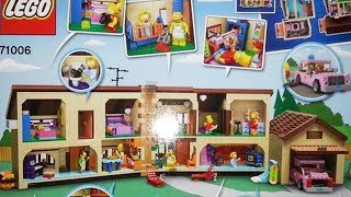 LEGO The Simpsons House - Images Of The Interior