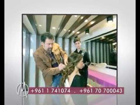 Marios Hair Studio Ad in Beirut Lebanon