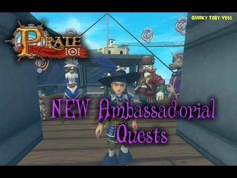 Pirate101 | Ambassador Quests! | Ep 1: Gathering the Diplomats