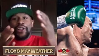 FLOYD MAYWEAHER FINALLY RESPONDS AFTER TYSON FURY SENDS HIM A DIRECT MESSAGE