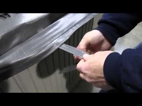 Spa Hot Tub Cover Broken Clip Latch Buckle Repair How To