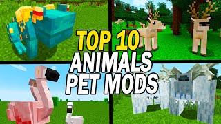 Top 10 Minecraft Pets & Animals Mods