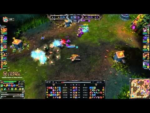 Vanity LoL 40,000 RP Cup #3 Final (Infanity eSport vs. Team Infused)