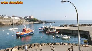Doëlan ; Petit Port de Pêche Breton ; 4K ; Bateaux ; Clohars ; Finistere ; Bretagne ; France