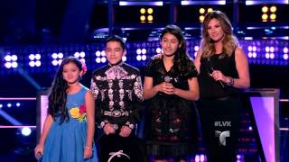 Luis, Danielle y Samanta en Las Batallas de La Voz Kids (VIDEO)
