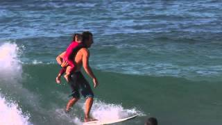 Cory Lopez and the World's Cutest Surf Session