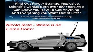Tesla Code Secrets How We Can Learn Nikola Tesla's' Lifestyle and Mindset