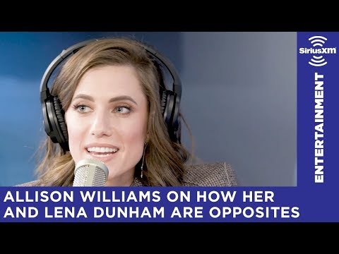 Allison Williams on Lena Dunham's constant apologizing