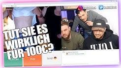 OMEGLE | Zieht SIE sich für 100€ nackt aus? Ome.tv Chatroulette | VanishTV