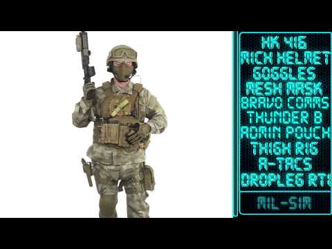 Airsoft GI - Advanced Tactical Gear Heads - The Progression of Tactical Gear