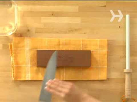 How to Sharpen a Knife with a Stone