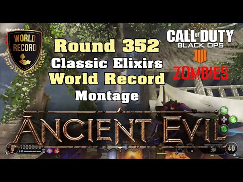 Ancient Evil 352🏆 World Record Montage - Call of Duty: Black Ops 4 Zombies