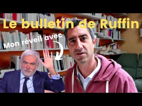 Réveil avec Pascal Praud, grand écart dans l'aéro et Roosevelt reviens... Le Bulletin de Ruffin