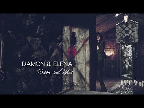 Damon & Elena | Poison and Wine (for my 100+ subscribers)