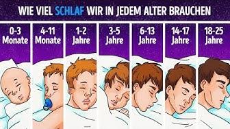 Die Wissenschaft erklärt, wieviel Schlaf du abhängig deines Alters wirklich brauchst