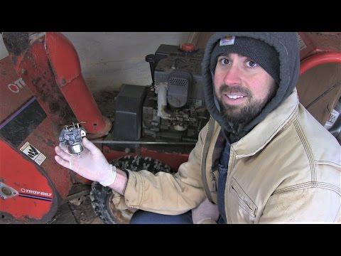 Carburetor Replacement – 8hp Tecumseh Snow King