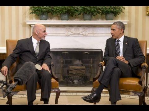 U S  to Keep 9,800 Troops in Afghanistan Through End 2015