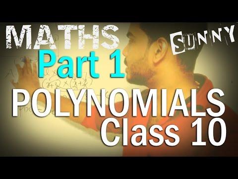 MATHS| PART 1- Polynomials || SSLC | | CLASS 10 KERALA
