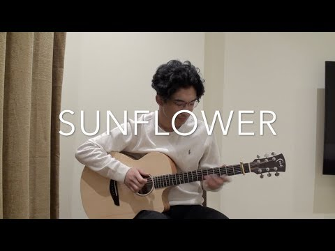 Sunflower - Post Malone & Swae Lee - [FREE TABS] Fingerstyle Guitar Cover