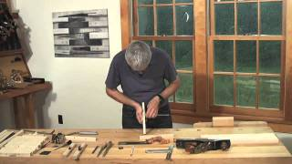 Making A Chair Scraper With Aled Lewis