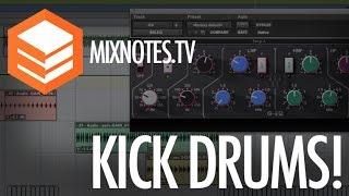 How to Make Huge Kick Drums - Waves SSL - Waves CLA76