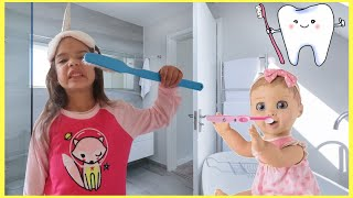 This Is The Way I Brush My Teeth Nursery Rhyme Song For Kids