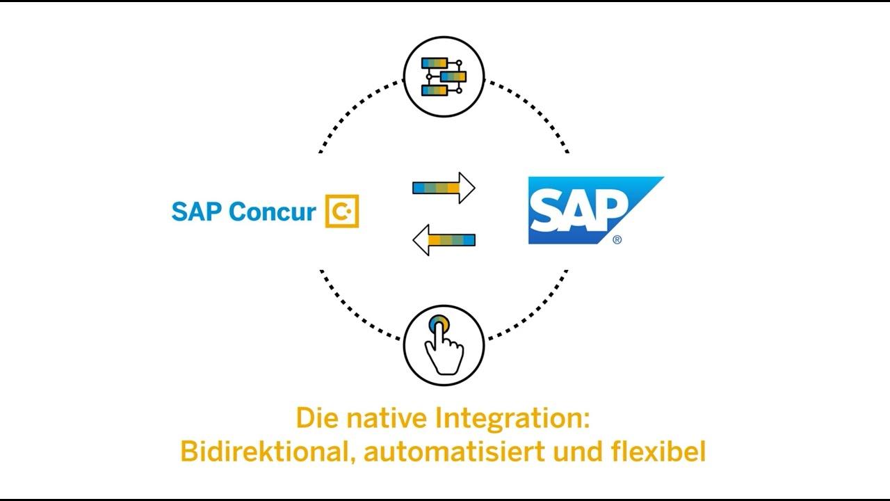 SAP Concur & SAP: Nativ integriert für Transparenz & konsistente Daten
