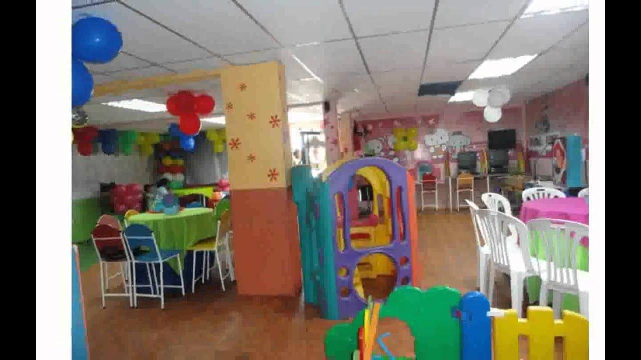 Mobiliario Para Salon De Fiestas Infantiles - YouTube
