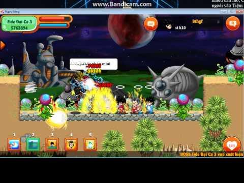 Ngọc Rồng Online( Đánh Fide 1 đến Fide 3 )