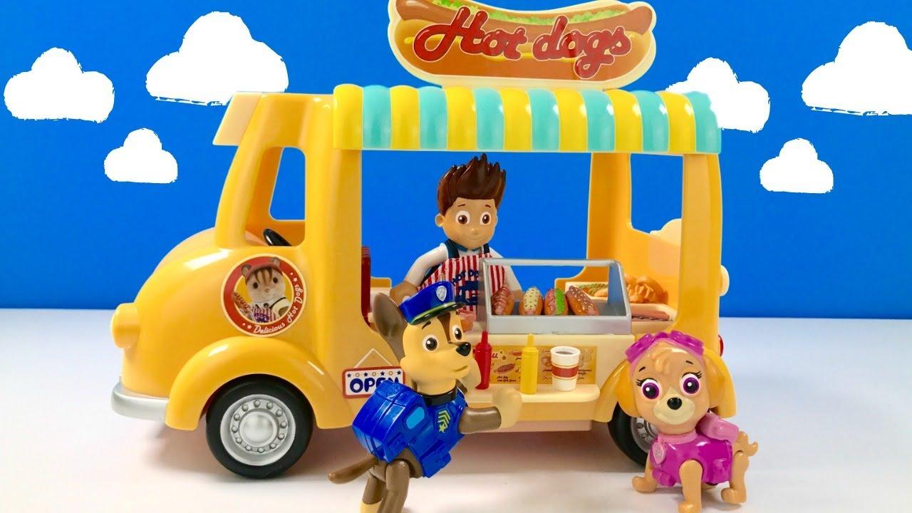 Fizzy Fun Toys: Paw Patrol Hot Dog Stand